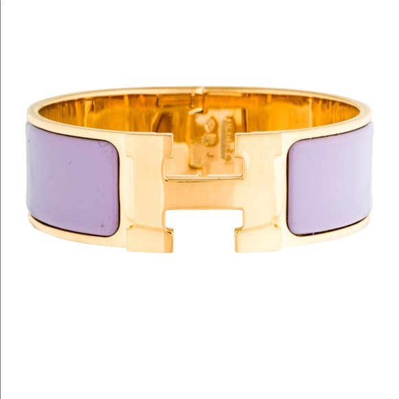 b246b9f7f8 Hermès clic clac in lavender
